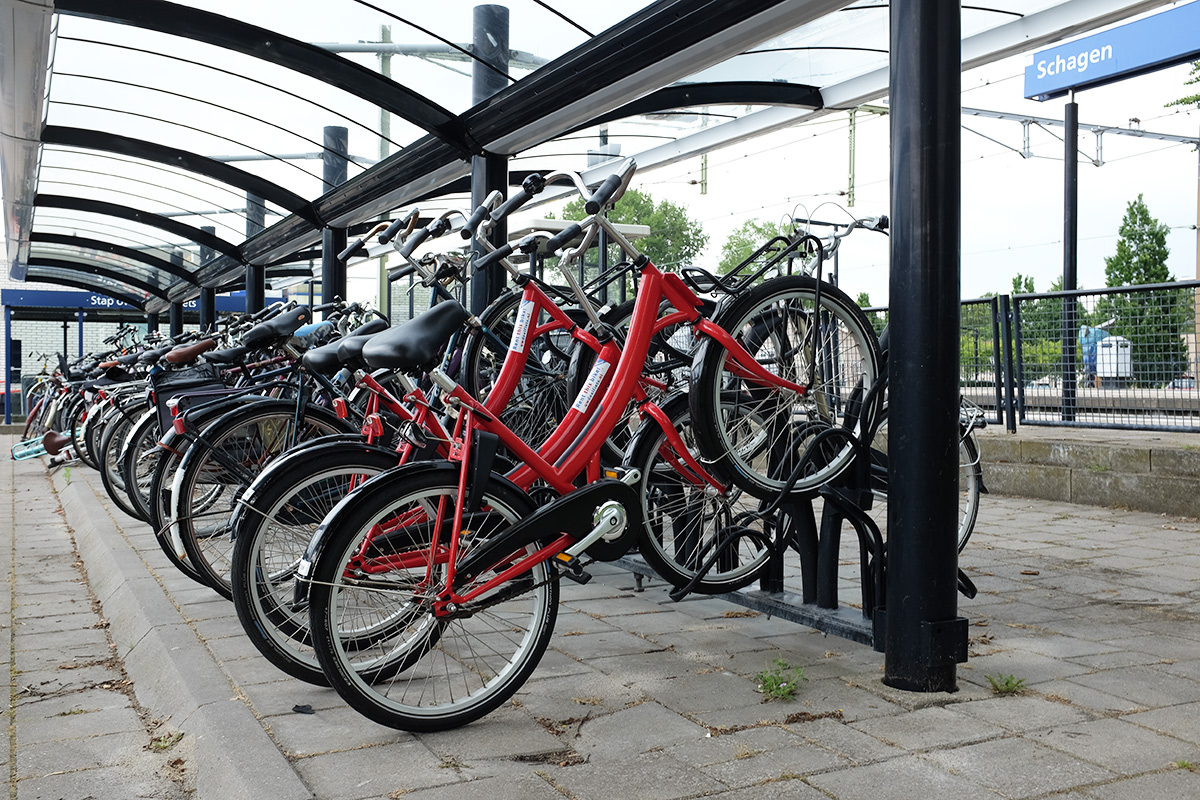 Deelfietsen Station Schagen