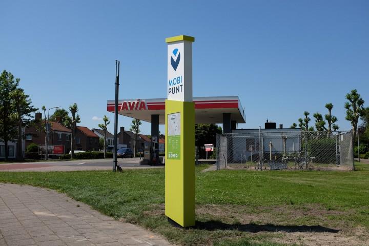 Mobipunt paal Middenmeer